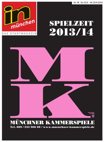 in münchen Nr. 18/2013 by InMagazin Verlags GmbH - issuu