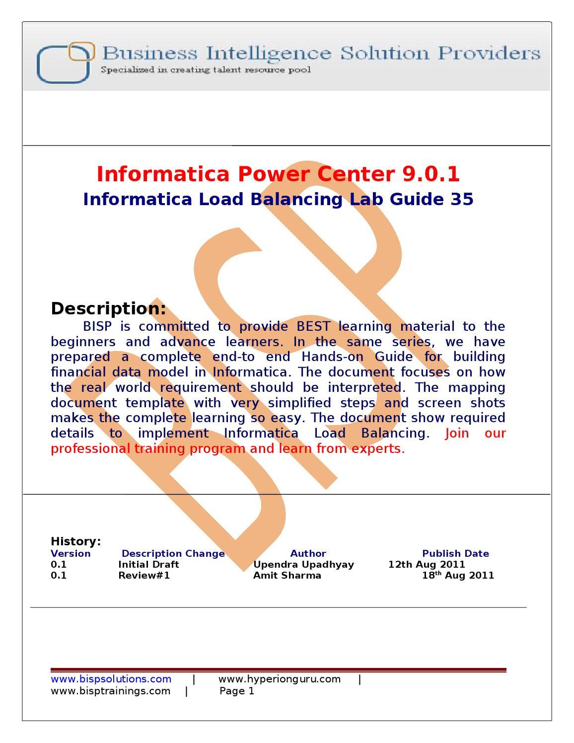 Informatica Power Center 8.6.1 Installation - Informatica ...