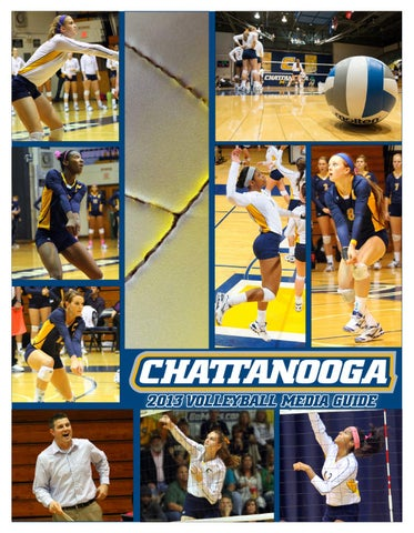 2013 Chattanooga Volleyball Media Guide By Chattanooga Athletics Issuu