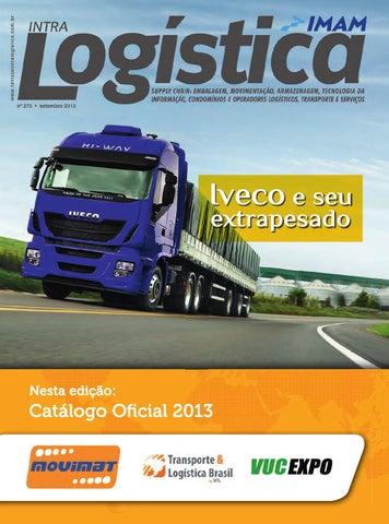 Revista intraLOGÍSTICA - Edição 275 - Setembro 2013 by IMAM Editora ... dd100b13ad