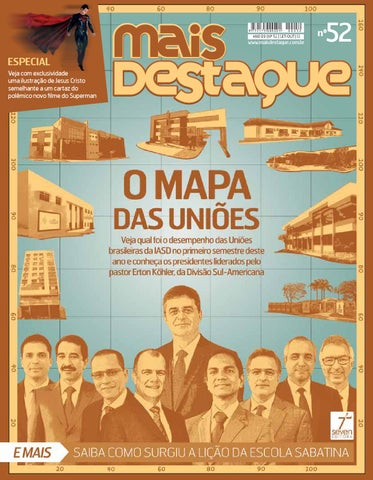 O Mapa Das Unioes By Marcelo Inacio Issuu