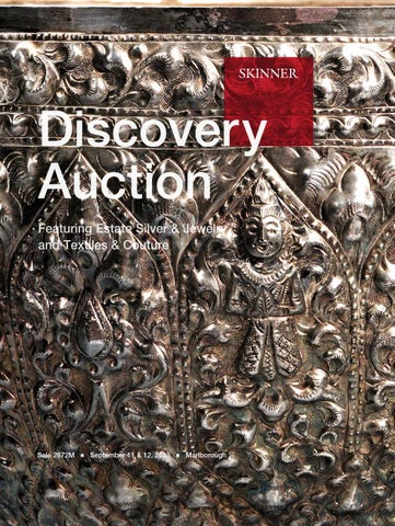 822ec16d1781b Discovery featuring Silver, Jewelry, Couture & Textiles | Skinner ...