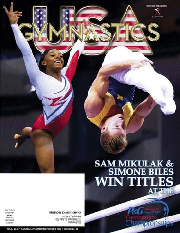 9336bc187 USA Gymnastics - September October 2013 by USA Gymnastics - issuu