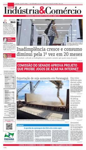 Diário Indústria   Comércio 11-09-2013 by Diário Indústria ... 409170aae4a