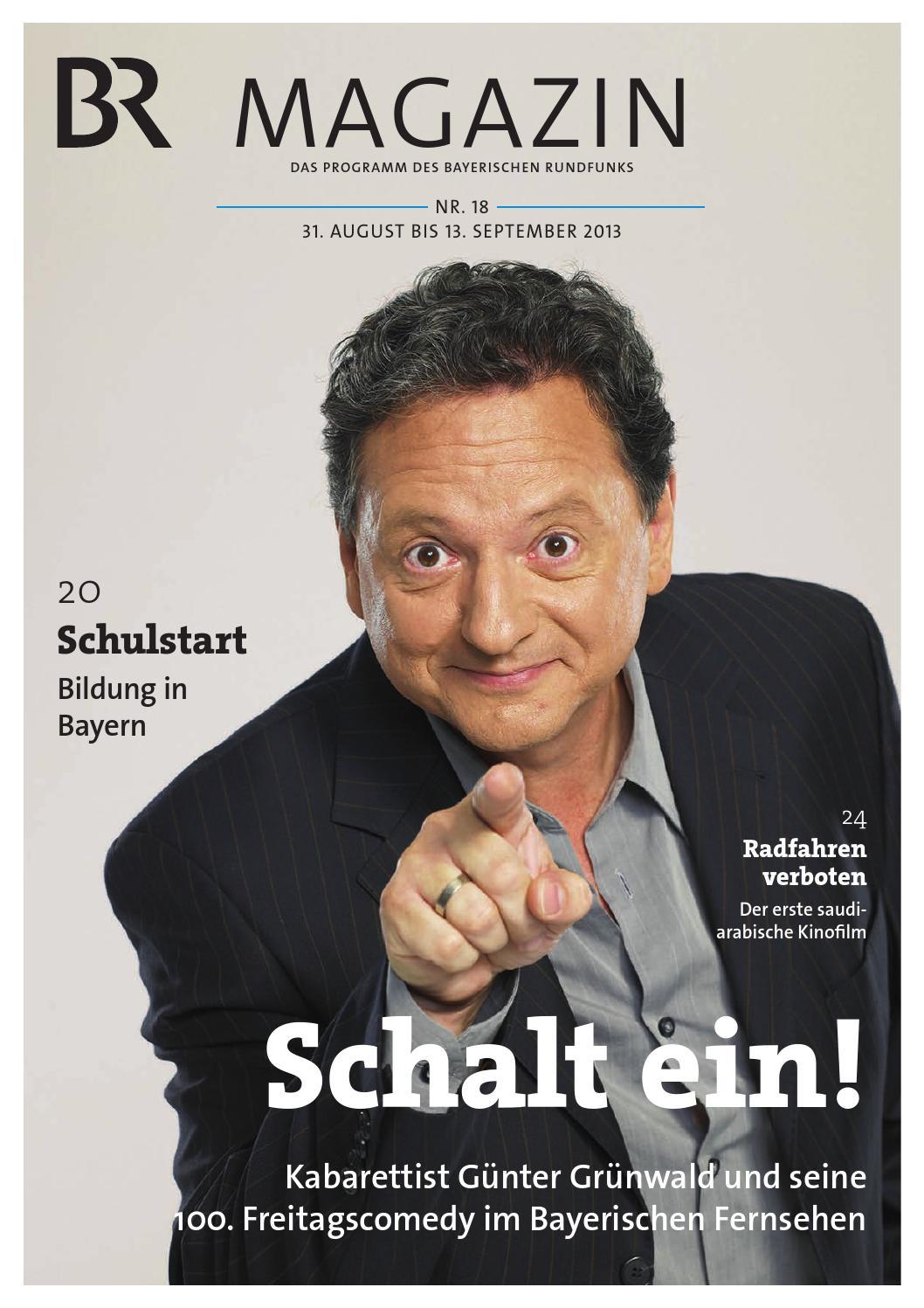 Br Magazin Nr 18 Vom 31 08 13 09 2013 By Bayerischer Rundfunk Issuu