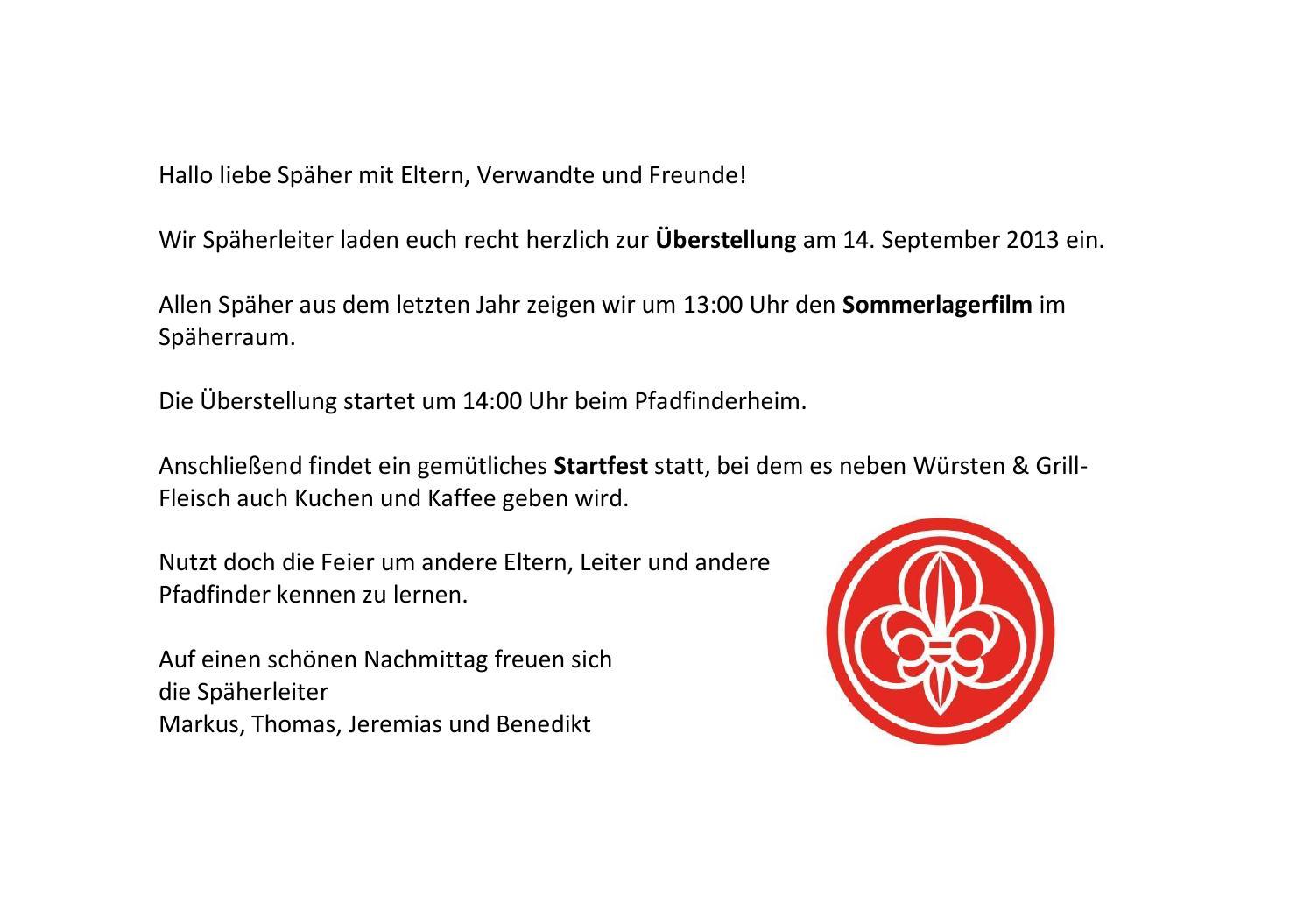 Jahresbrief an die Eltern 2013/14 by Spaeher Rankweil - issuu