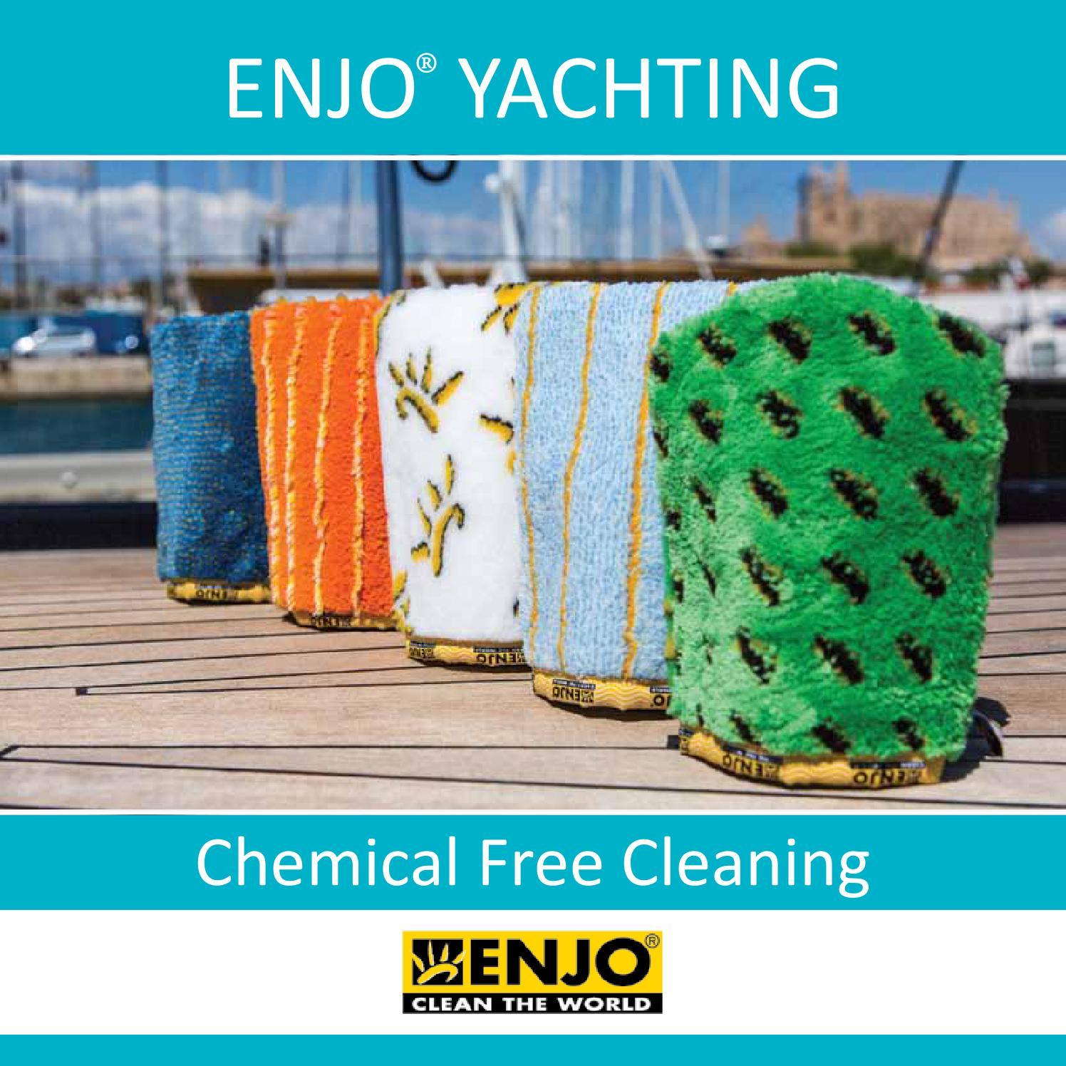 Wash Enjo Cloths: Enjo® Yachting Brochure 2013 By Enjoyachtclean