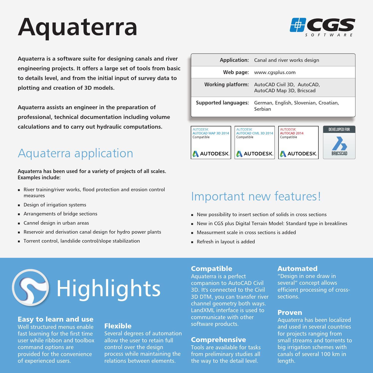 Aquaterra 2014 by CGS Labs - issuu