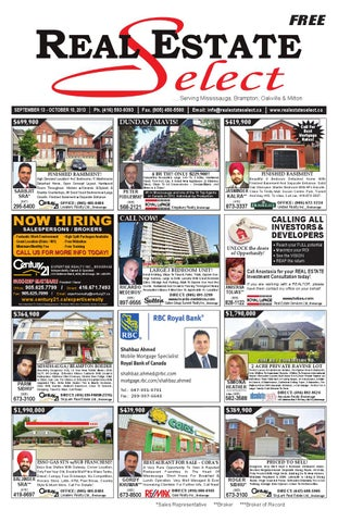 Real Estate Select Newspaper - Volume 7, Issue 9 by Real