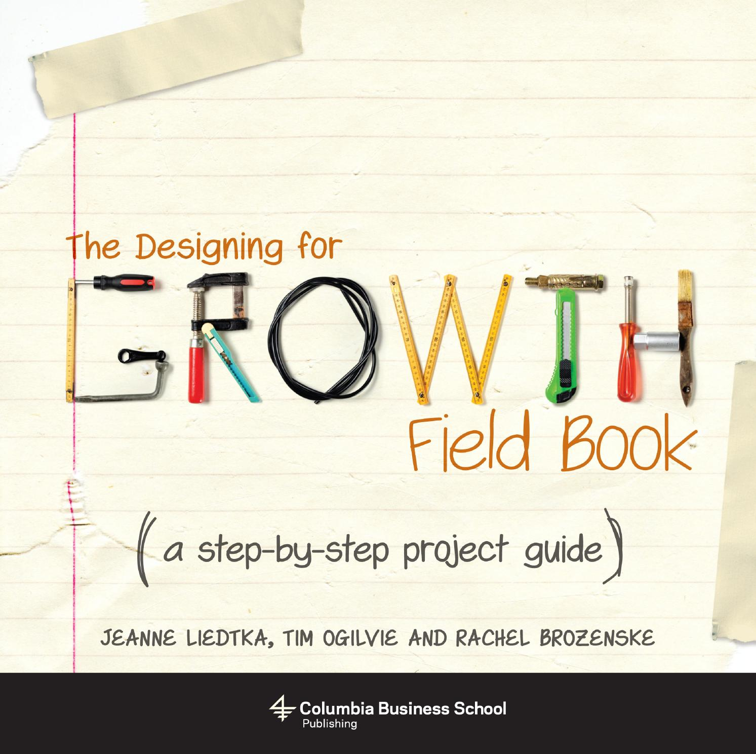 The Designing for Growth Fieldbook
