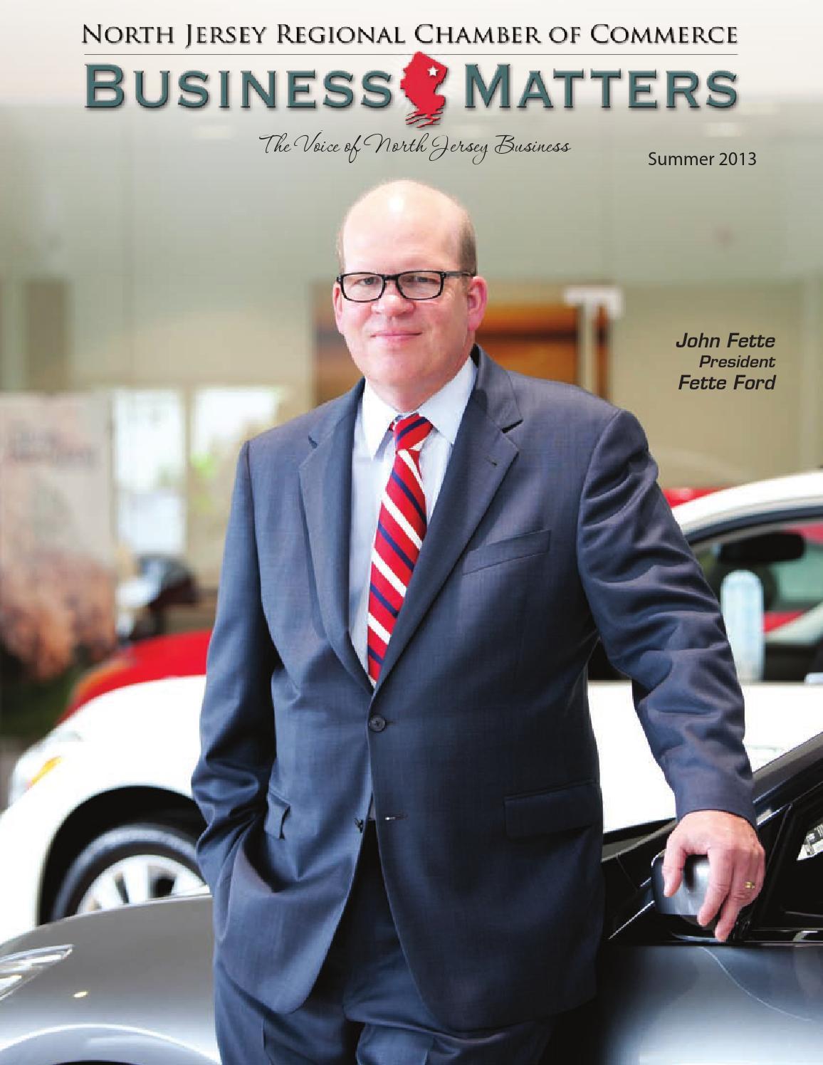Fette Infiniti Service >> Business Matters Summer 2013 Edition by Brian Tangora - issuu