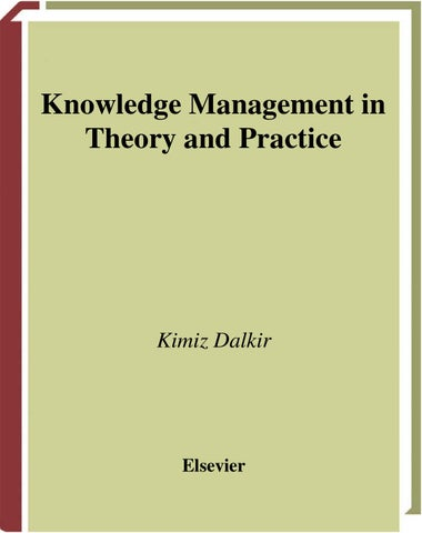 Page 1 Knowledge Management