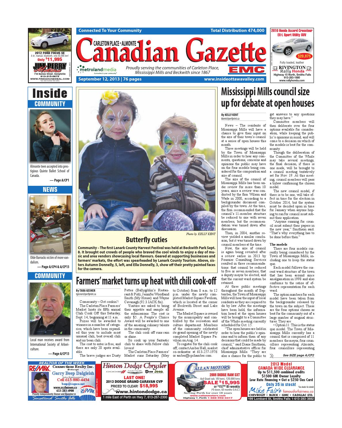 cheap for discount 4a847 69055 Almontecarletonplace091213 by Metroland East - Almonte Carleton Place  Canadian Gazette - issuu