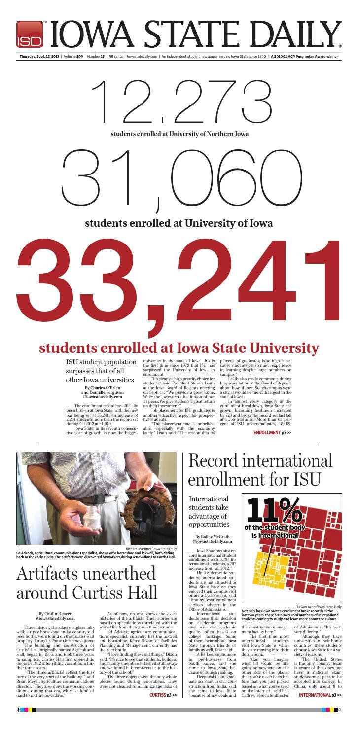 9 12 13 by Iowa State Daily - issuu