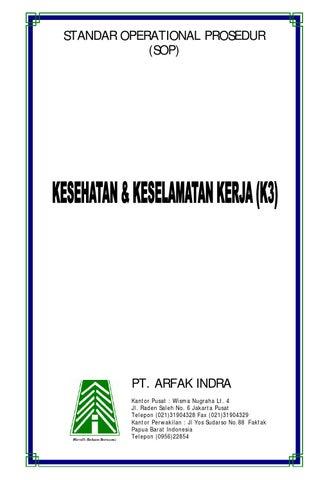 Standar Operational Prosedur Sop