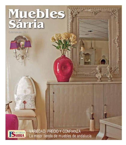 Cat logo general 2 septiembre 2013 muebles sarria marchena for Muebles andalucia cordoba