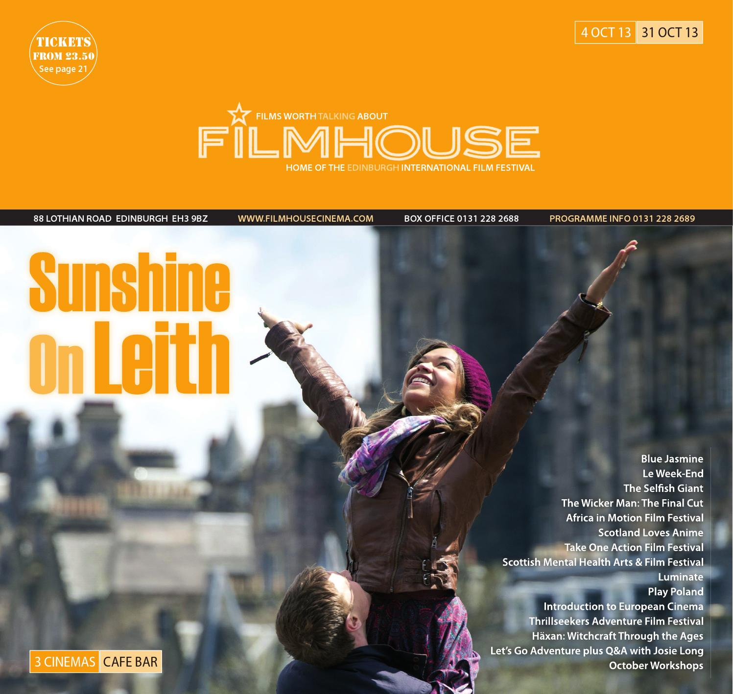 Filmhouse Oct 13 by Filmhouse - issuu