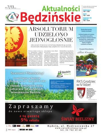 Aktualności Będzińskie Lipiec 2013 By Bedzin Issuu