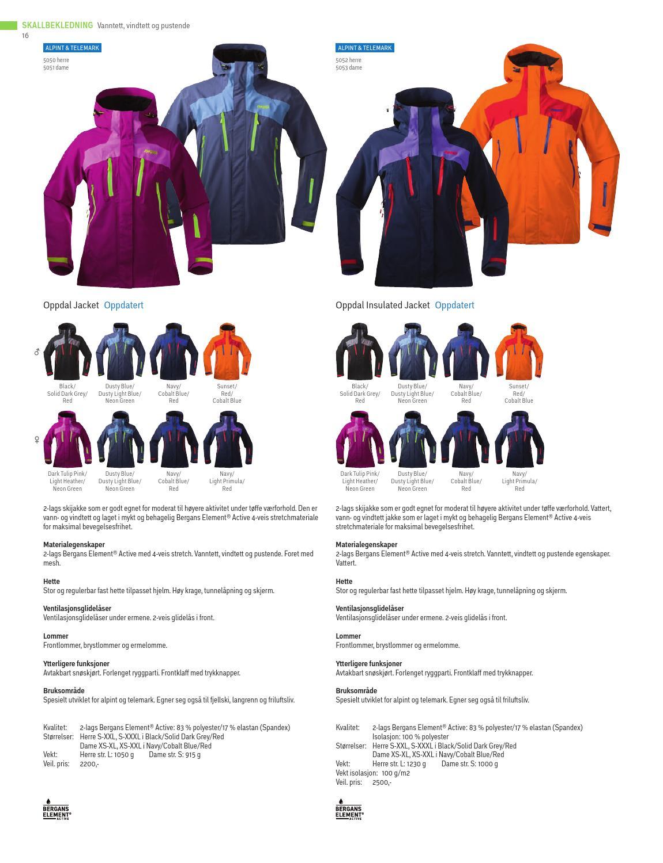 6e7f25bd Bergans Produktkatalog Høst / Vinter 2013–2014 by Bergans of Norway - issuu