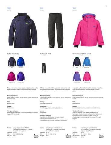 2d09ff7c Bergans Produktkatalog Høst / Vinter 2013–2014 by Bergans of Norway ...