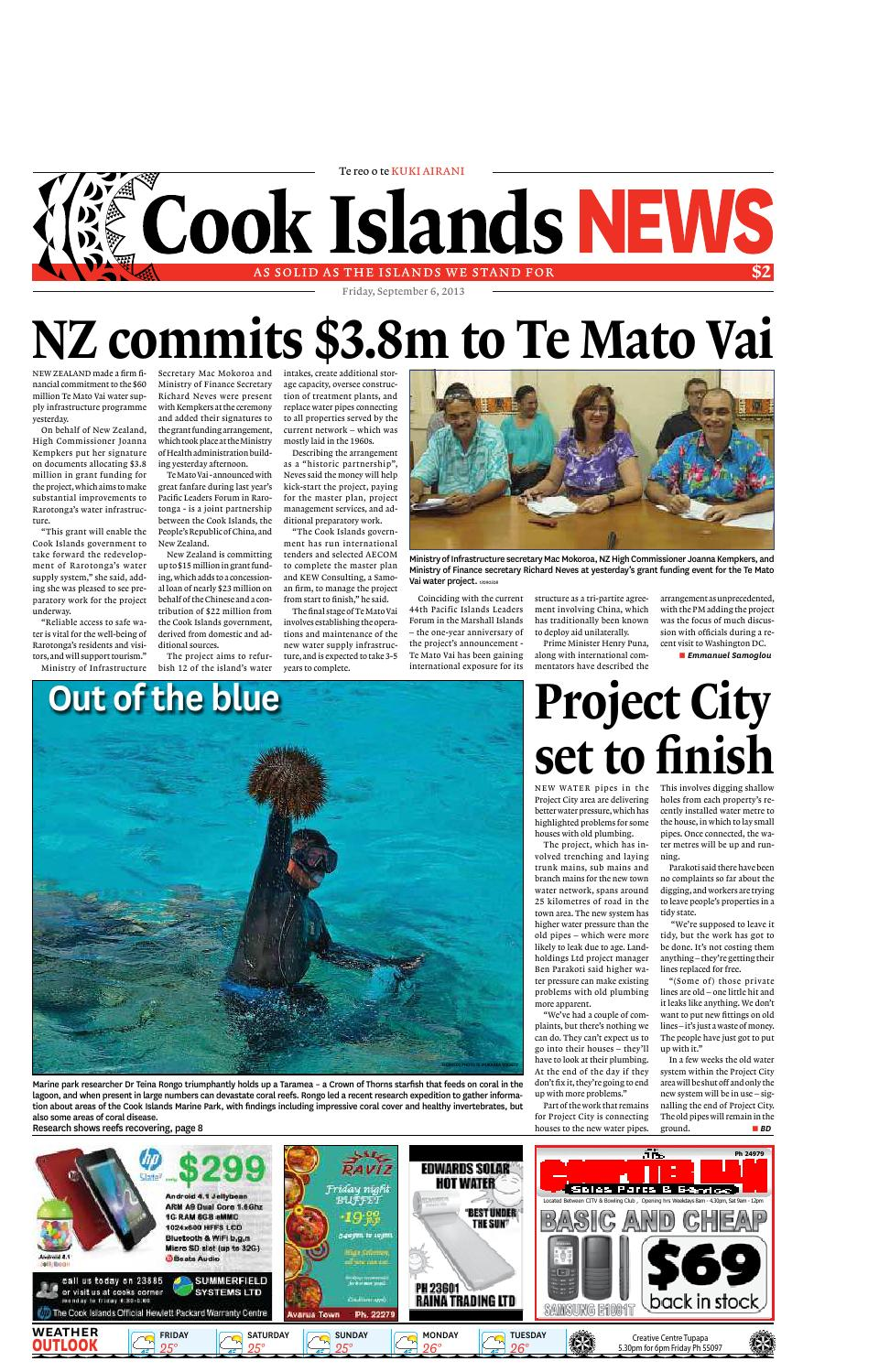 Friday 6 September by Cook Islands News - issuu