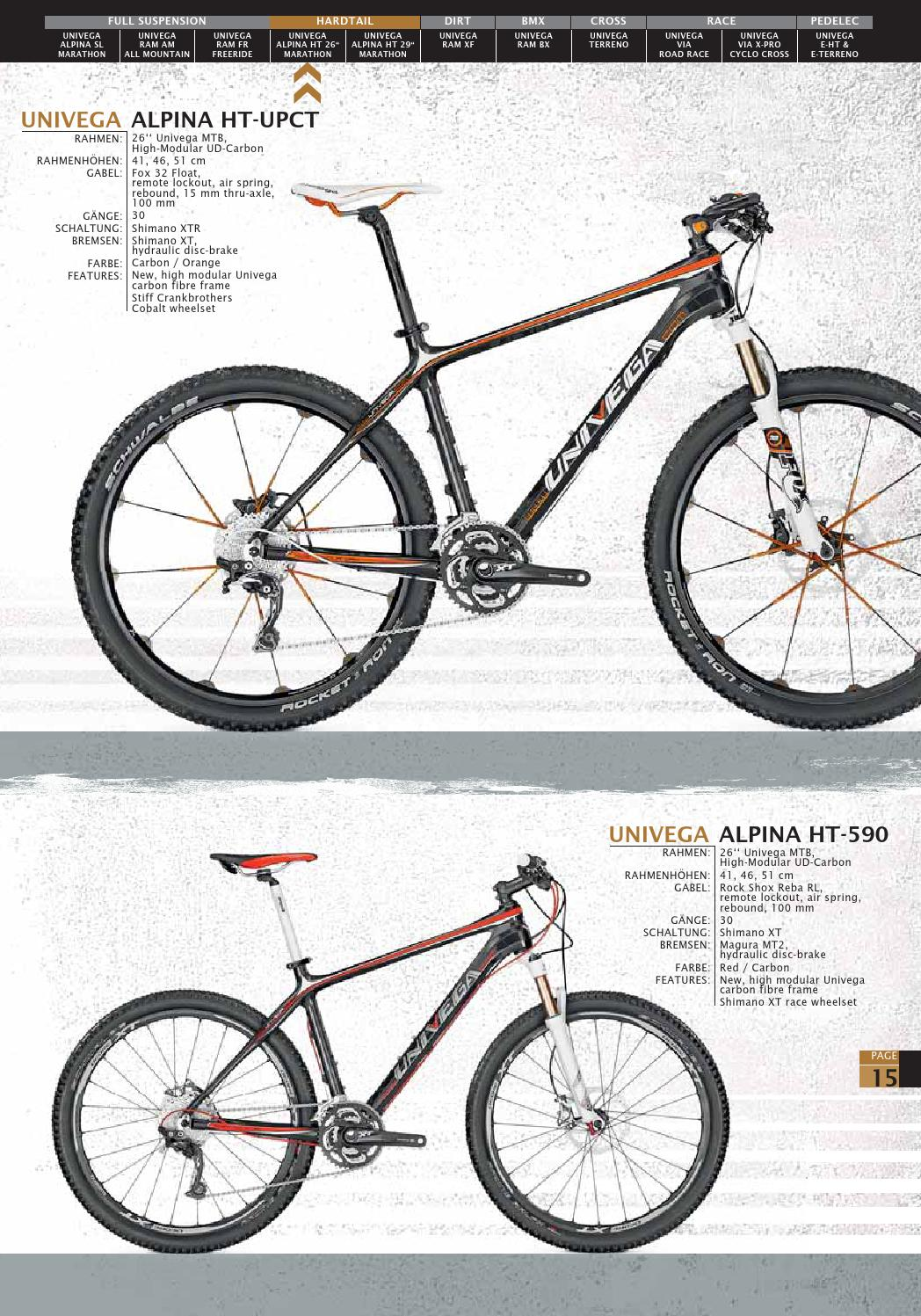 Univega Bikes 2012 by Derby Cycle - issuu