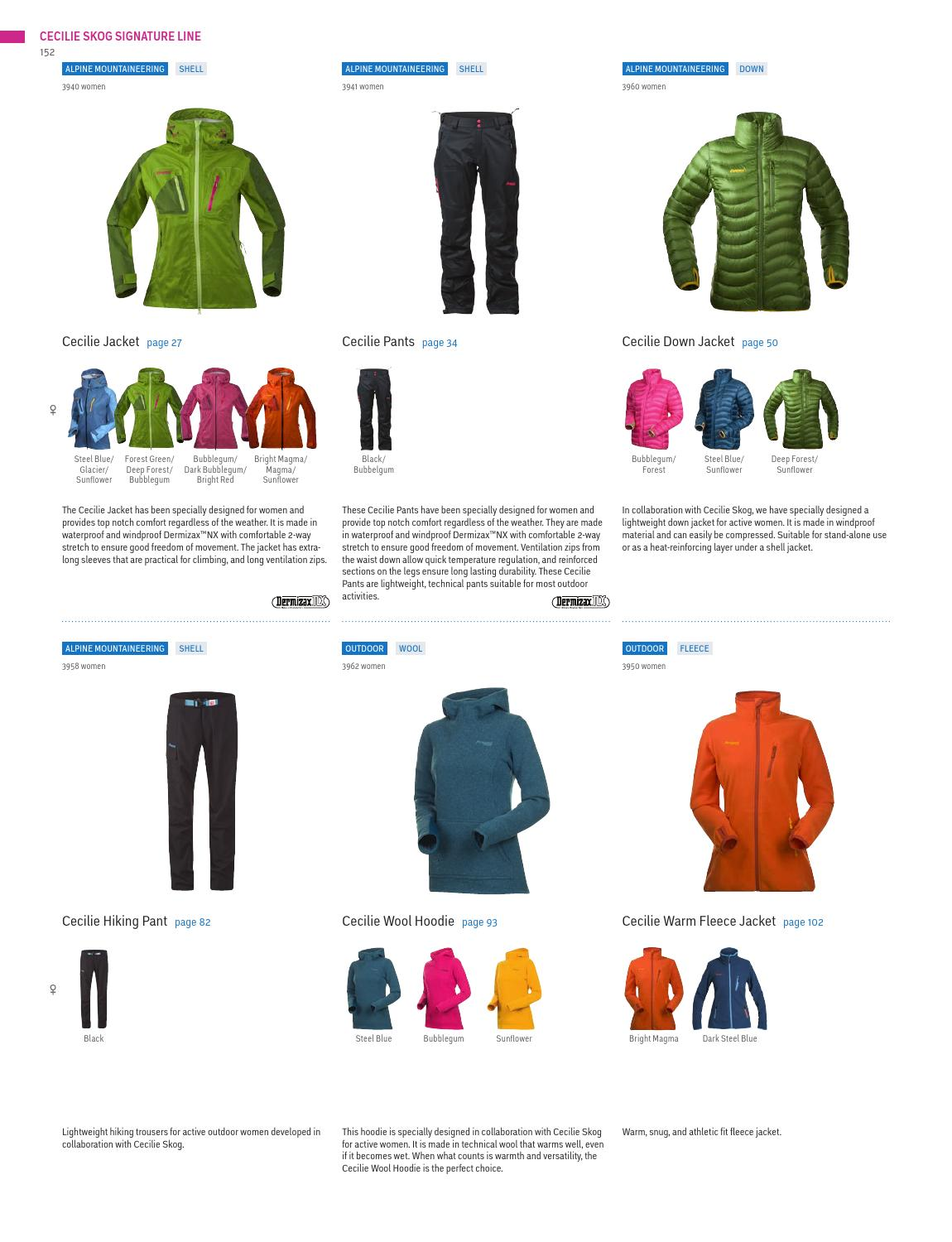 Bergans Product Catalog Fall Winter 2013–2014 by Bergans