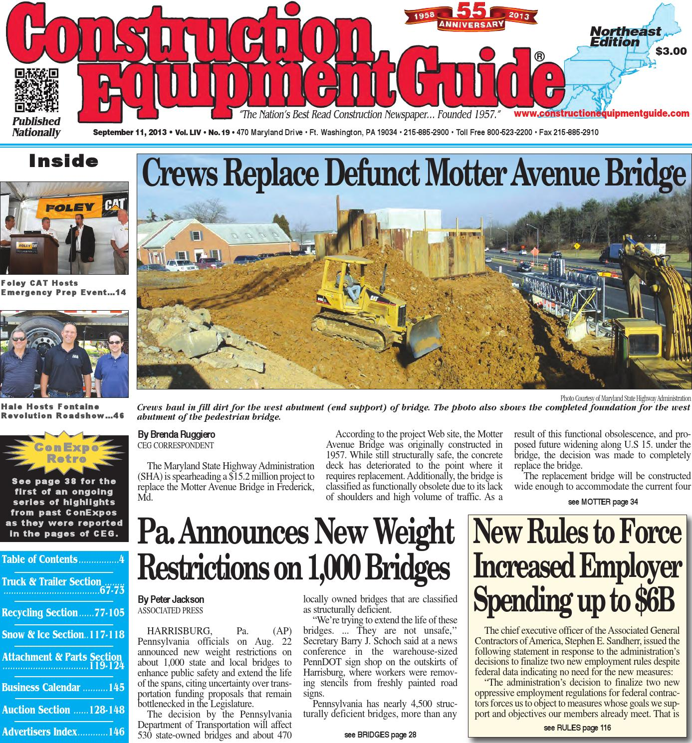 f00d8ad9e5 Northeast 19 2013 by Construction Equipment Guide - issuu