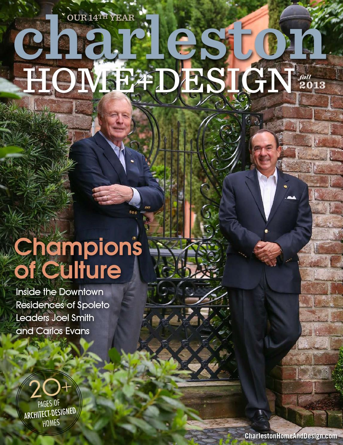 Charleston Home + Design Magazine   Fall 2013 Part 38
