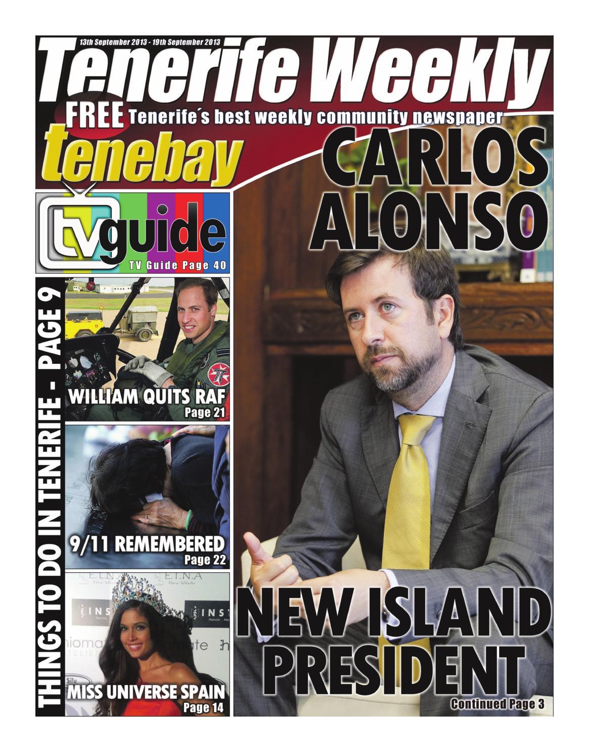 Actor Porno En Tenerife 2017 tenerife weekly issue 98tenerife weekly - issuu