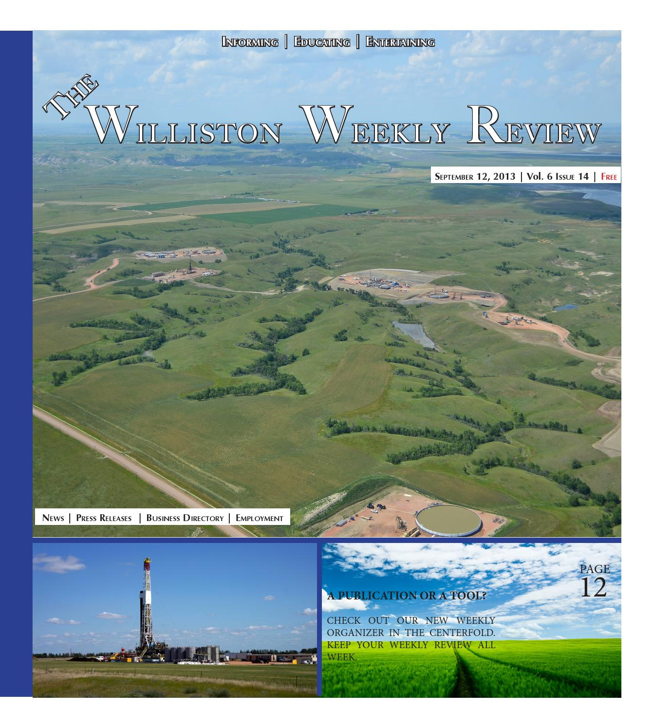 Williston Review by TheWillistonReview - issuu