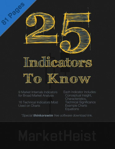 25 Stock Market Indicators To Know by MarketHEIST com - issuu