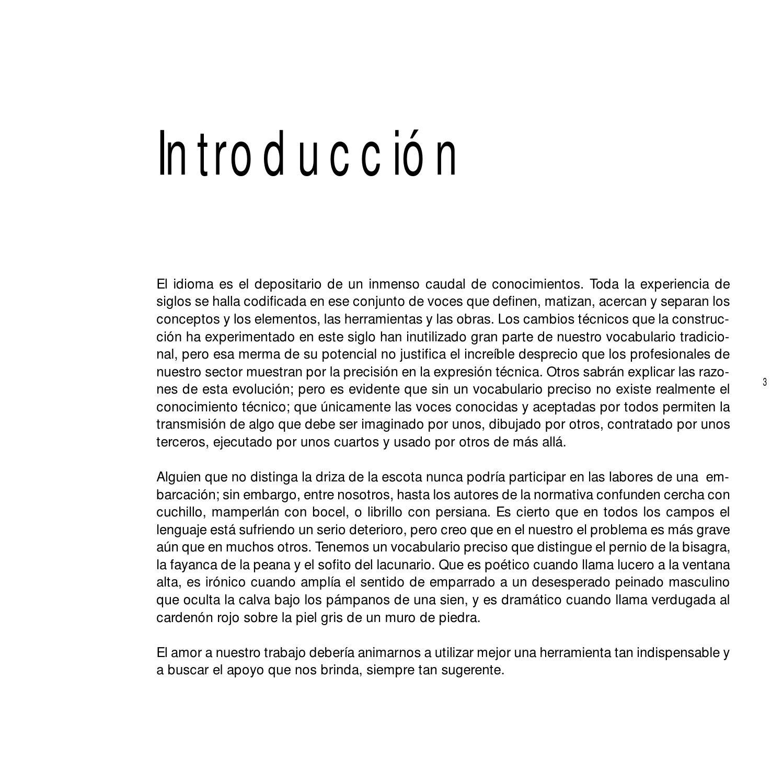Vocabulario de arquitectura y construcción ignacio paricio by lesly ...