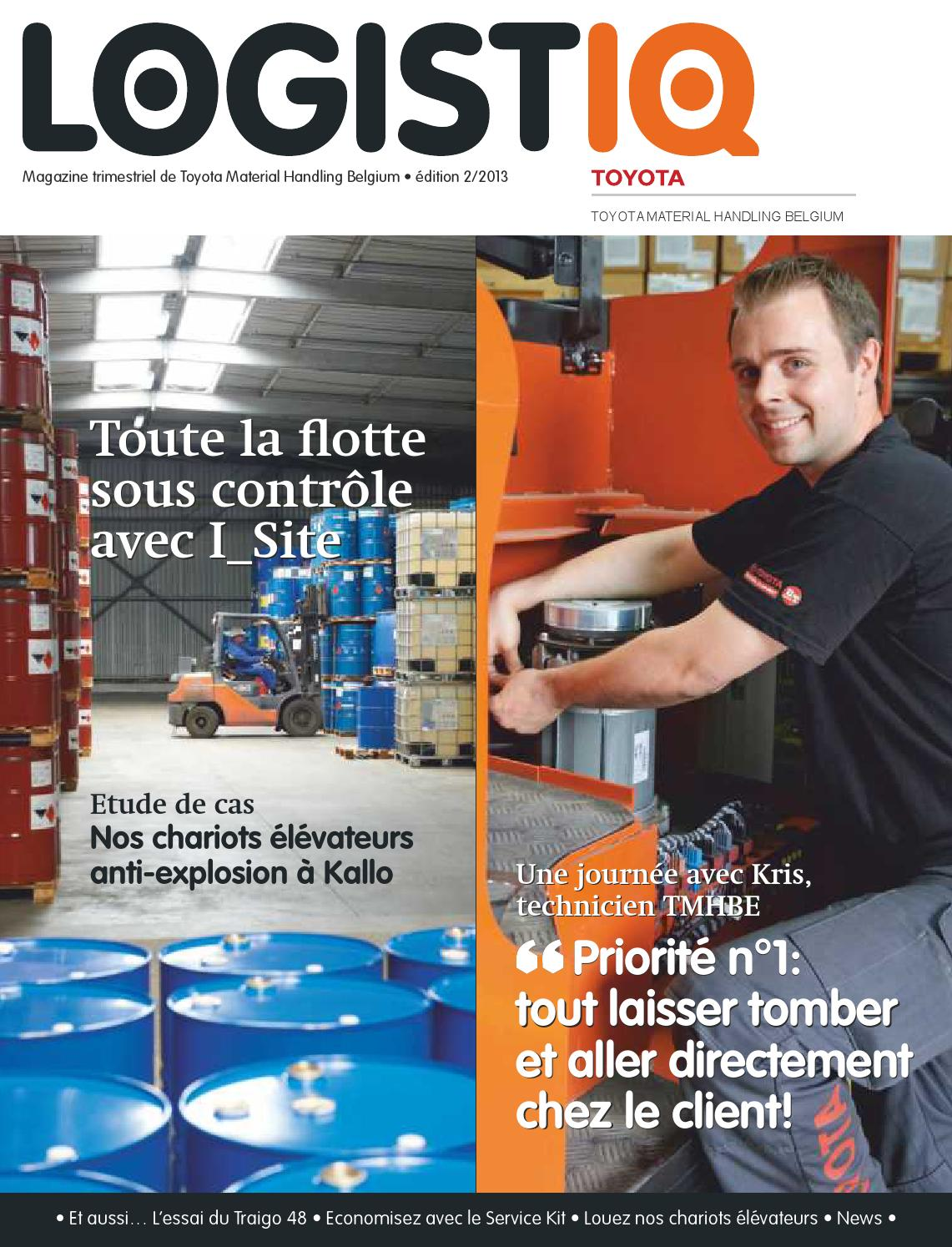 magazine d 39 entreprise toyota material handling belgium by thomas verheyen issuu. Black Bedroom Furniture Sets. Home Design Ideas