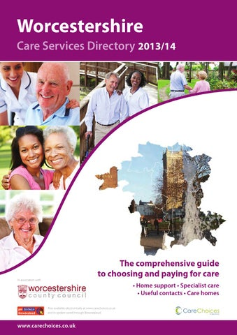 Worcestershire Care Services Directory 2013 14