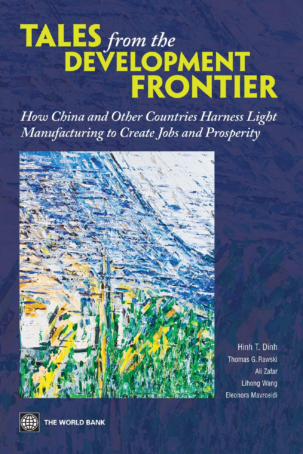 Tales From The Development Frontier Part 1 By World Bank Publications   Issuu