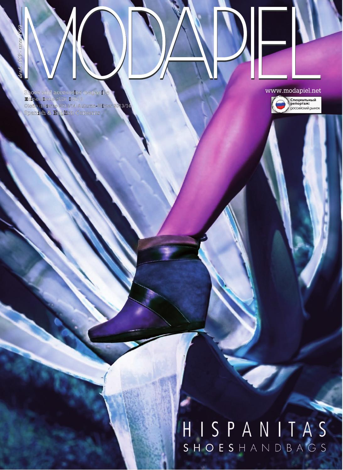 huge discount a6767 e4b67 Modapiel 120 Shoes and accessories magazine by Prensa Técnica S.L. - issuu