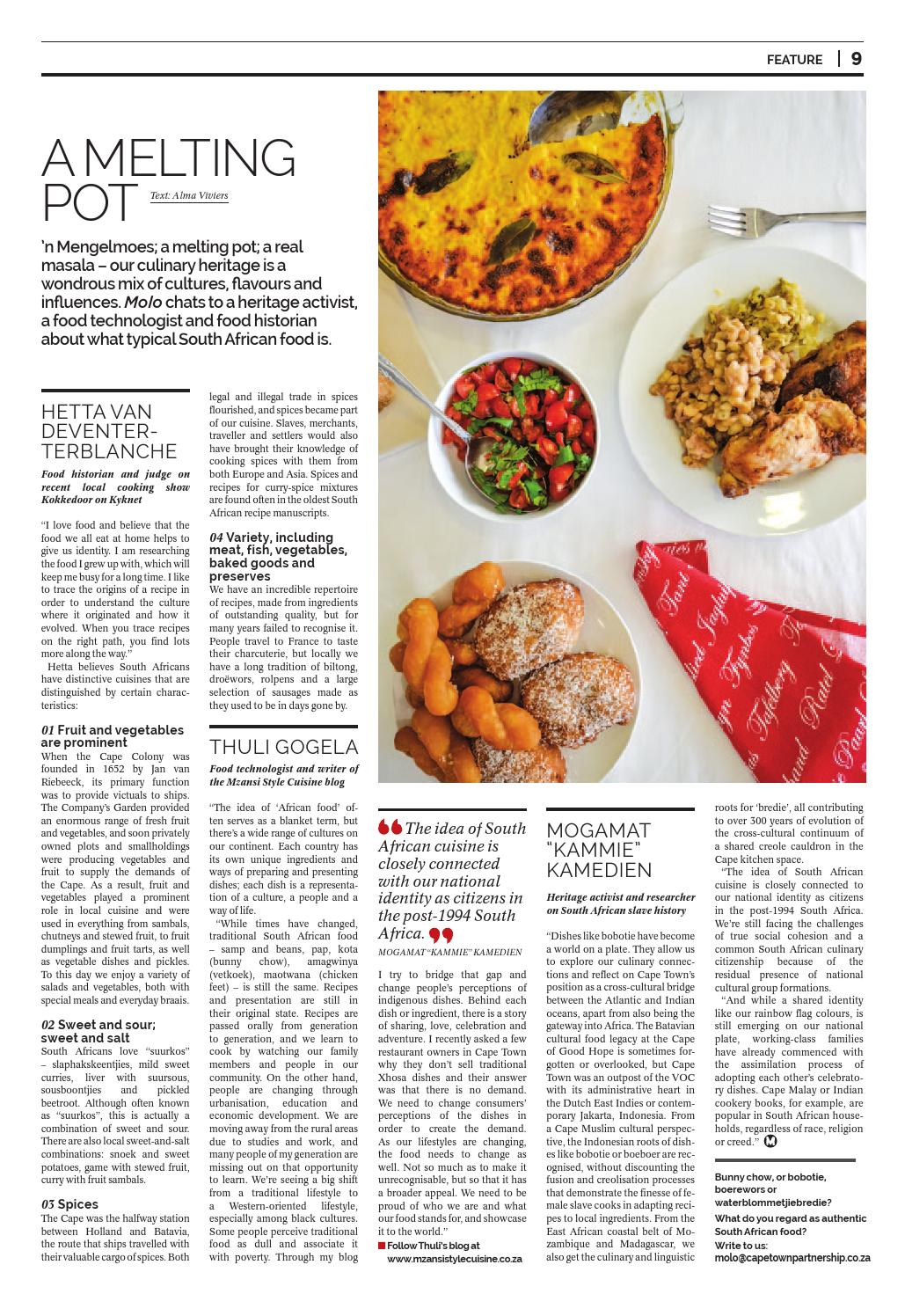 Molo: Explore Cape Town's food stories by Cape Town Partnership - issuu