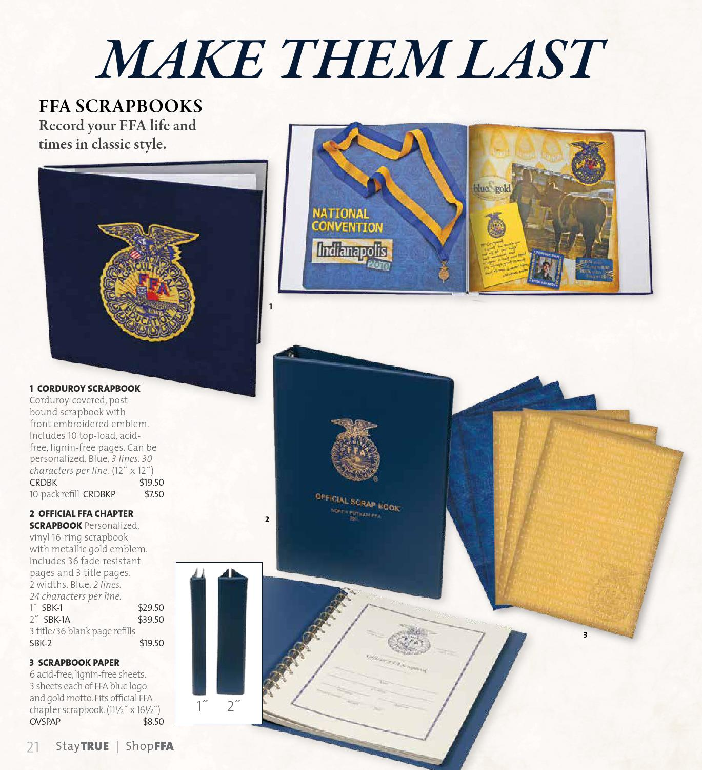 2013 14 Shop Ffa Gold Catalog By National Ffa Organization Issuu