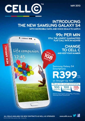 May 2013 Franchise Booklet by Cell C South Africa - issuu
