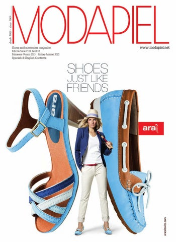 b535af90 Modapiel 119 Shoes and accessories magazine by Prensa Técnica S.L. ...