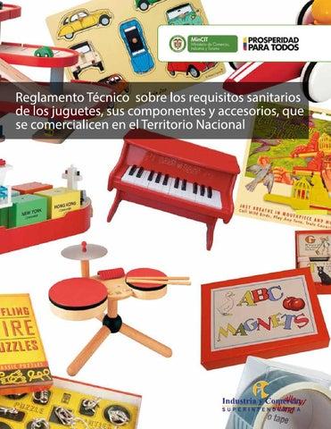 Reglamento Técnico Juguetes by Superintendencia de Industria y ... baa0e1e25ed