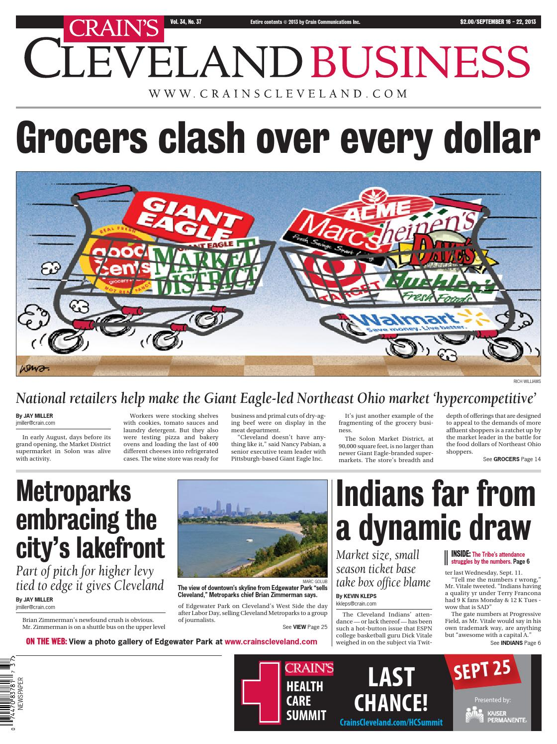 Crain\'s Cleveland Business by Crain\'s Cleveland Business - issuu