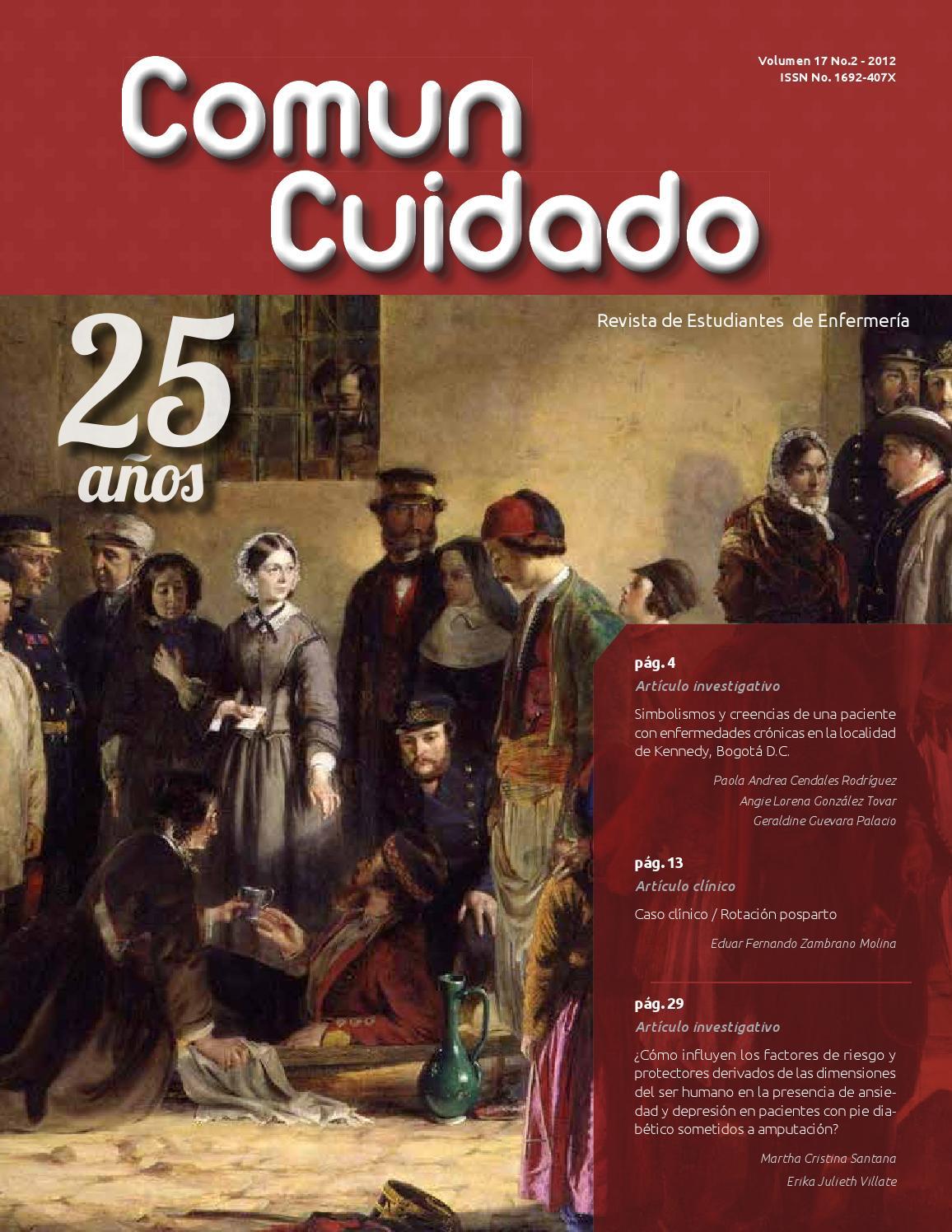 Comun Cuidado Revista de Estudiantes de Enfermería Vol. 17 by ...