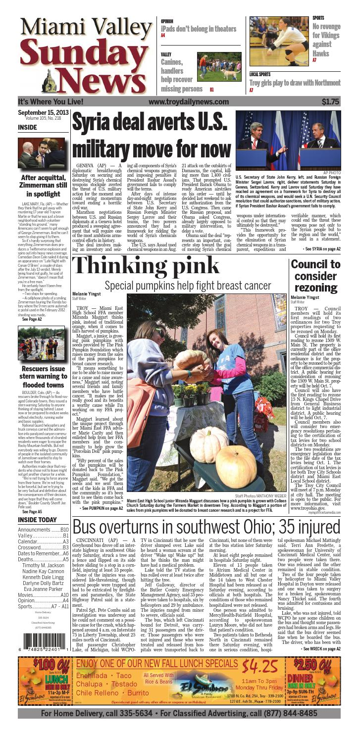 huge selection of 607e1 90df5 Tdn09152013 by I-75 Newspaper Group - issuu