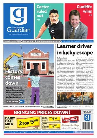 b16e97846 Ashburton Guardian Monday, September 16, 2013 by Ashburton Guardian ...