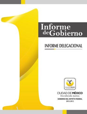 Informe delegacional by InformeGDF - issuu 45d15134999