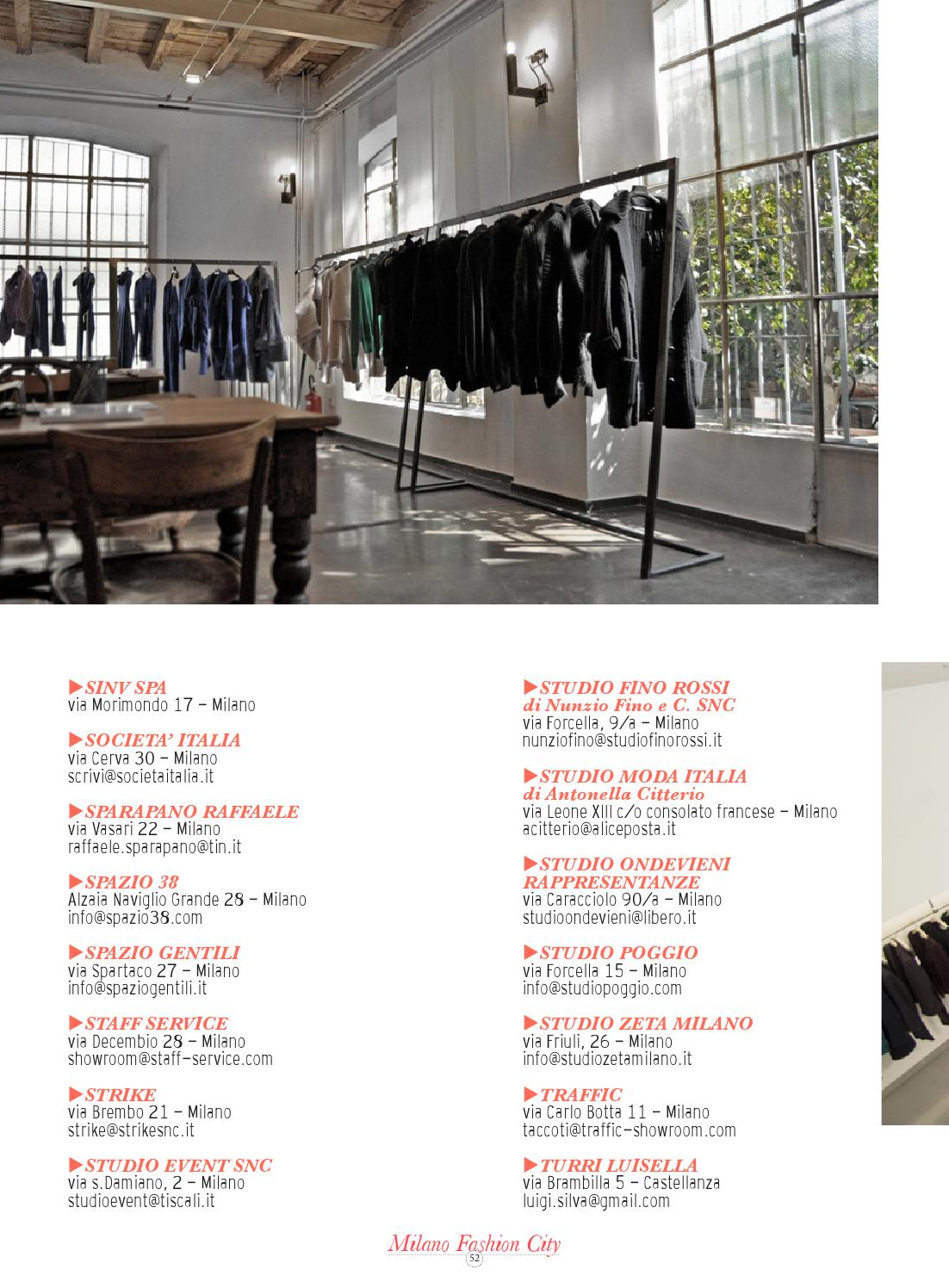 best service c5330 1ce59 Milano Fashion City Guide - September 2013 by Fashion ...