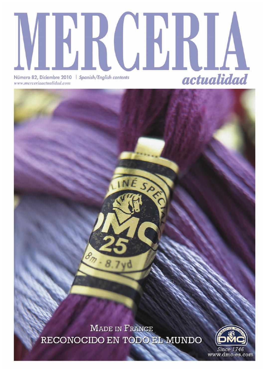 3aa48231e1df Mercería Actualidad 82 Haberdashery products and handicrafts by Prensa  Técnica S.L. - issuu