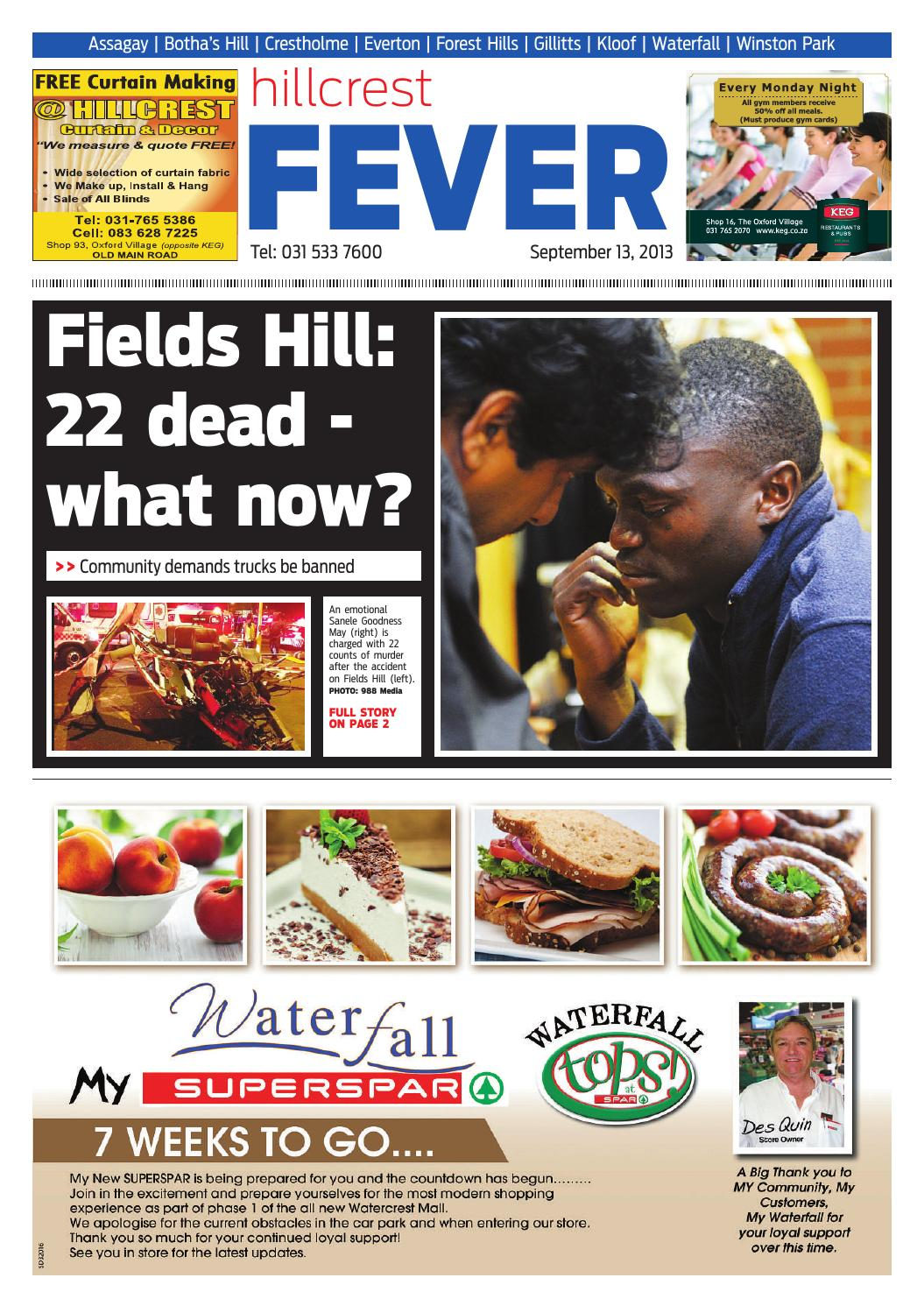 Hillcrest fever 13 09 2013 by Hillcrest Fever - issuu